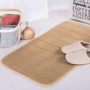 Bathroom Water Absorption Rug Mat Door Step Carpet Soft Warm Feet Toilet No Slip