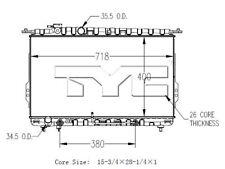 Radiator-Assembly TYC 2790 fits 04-06 Kia Amanti