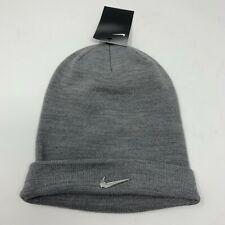 100c7f1e Nike Youth Beanie Metal Swoosh 825577-091 Gray/Metallic