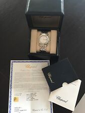 Chopard impériales Steel White Chronographe Men's Watch.