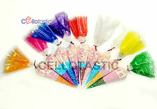 Cone Cellophane Bags | Various Sizes | Sweet Party Favour Display *TOP QUALITY*