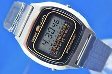 Vintage Retro Orient Early Digital LCD Chronograph Watch 1976 NOS New Old Stock