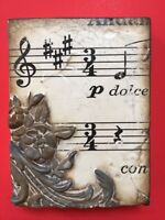 NEW! SID DICKENS T-335 DOLCE VITA Music THE SWEET LIFE - MEMORY TILE - FREE SHIP