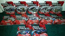 Warpath Arcee Air Raid Armorhide Storm Surge Elita-1 ++ Scout Transformers 2007