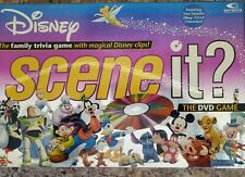 Disney Scene It DVD Game 1st Edition Mattel 2004 - Complete VG Condition!