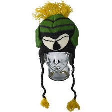 Novelty 100% Wool Marvin Martian Style Hand Made Tassel Hat Kids Adults One Size