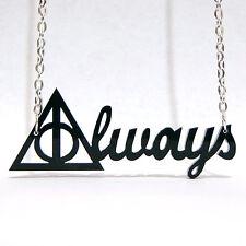Colgante ALWAYS Harry Potter Collar Las Reliquias de la Muerte Deathly Hallows