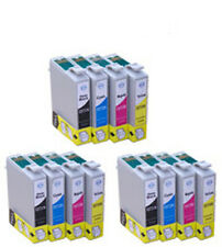 12 Fits For Epson Rx420 Rx425 Rx520 Ink Cartridges Stylus Printer