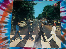 THE BEATLES Abbey Road APPLE RECORDS Near Mint PROMO PUNCH HOLE