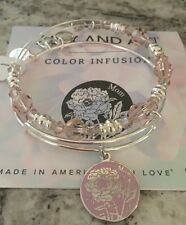 Alex and Ani Shiny Silver Limited Edition Color Infusion Mothers Day Mom Set NWT