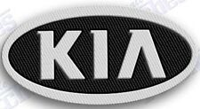KIA  AUTO CAR  iron on embroidery patch 2.3 x 1.7  EMBROIDERED PATCHES xxxx