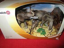 Schleich® WILD LIFE 42337 Afrikanische Elefantenfamilie NEU OVP