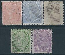 Handstamped Queensland Australian Stamps