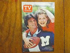 1981 Philadelphia Inquirer TV Week Mag(LINDA HAMILTON/SECRETS OF MIDLAND HEIGHTS