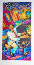 2018 New Orleans Jazz Heritage Fest Festival Fats Domino Signed and Numbered