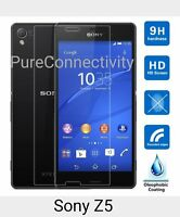 Real HD Tempered Glass Temper Glass Screen Protector For Sony Xperia Z5