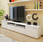 2.2 M New Modern TV Stand Entertainment Unit High Gloss White Cabinet