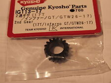 KYOSHO INFERNO GT, GT2, 17T PINION GEAR FOR IG111, IG113-17