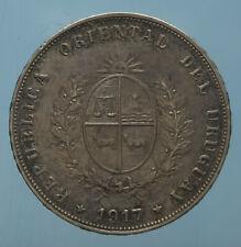 URUGUAY 50 CENT 1917 SPL