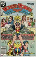 Wonder Woman 1987 series # 1 Canadian variant fine comic book