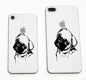iphone 8 Pug Sticker Fits Smart Phones For the Pug Lovers Or Tablets  Ipad