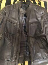 New Belstaff Weybridge Wax Leather Jacket Moose Green 56