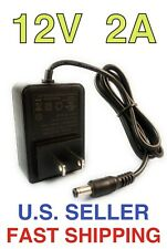 🌟AC 110-240V To DC 12V 2A 2000mA Power Supply Adapter For Pumps, Modems, Router