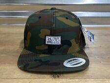 Salty Crew Marlin Skip Camo Snapback Hat Cap Army Green One Size ( 35035022 )
