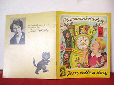 Jean Hardy GRANDMOTHERS CLOCK vintage sc C1968 FRED FISHER-MATEJA story book
