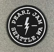 Pearl Jam Patch 3.5in iron on patch Music Rock Band Seattle si