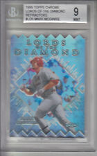 1999 Topps Chrome Lords of the Diamond Refractors  McGwire Z17782 - BVG Mint 9
