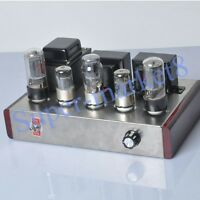 Class A Single Ended 6L6GC 6N8P Tube Audio Amplifier 8W*2 HIFI Valve Amp DIY Kit