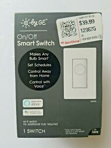 C by GE Wi-Fi On/Off Smart Light Switch (Alexa/Google Assistant) Smart Home