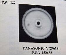 IDLER WHEEL / IW22 /  PANASONIC VXP0331 / RCA 152683 / VCR / 2 PIECES (qzty)