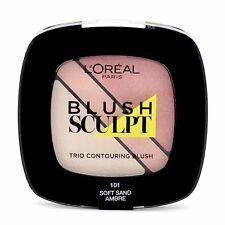 L'Oréal Infallibile Blush scolpire Trio CONTORNATURA Fard Tavolozza di sabbia morbida 101