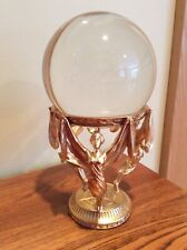 New ListingFranklin Mint Crystal Ball by Jeane Dixon-Coa, 24Kt Electroplate, Thread of Life