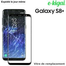 Samsung Galaxy S8+ PLUS  NOIR Vitre Réparation Verre Avant écran Remplacement