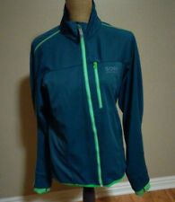 Gore Bike Wear Contest Windstopper Soft Shell blue green Jacket Men's Medium