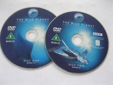 THE BLUE PLANET - natural history of oceans - 4 discs - DISC ONLY (DS49) {DVD}