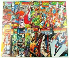 Youngblood 0 1 2 3 4 + Strike Files Image Comic Book Rob Liefeld April 1992