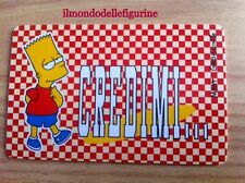 BART SIMPSON CARD Fox 1999