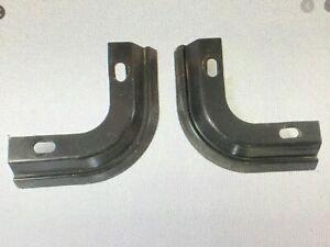 76-86 Jeep Bracket Corner Soft Top Belt Rail Kit Factory Round CJ7 AMC pieces