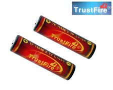2 x Original TrustFire 18650 3000mAh 3.7V Protected Li-ion Battery (Flame)
