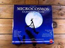 MICROCOSMOS LE PEUPLE DE L'HERBE LASERDISC LD PAL 1996