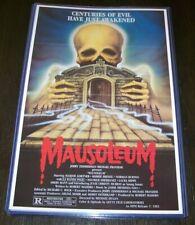 Mausoleum VHS Horror 11X17 Movie Poster