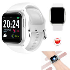 Bluetooth Smart Watch Heart Rate Monitor Weather Display for Women Men Android