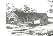 2 Bdrm 1 Bath 1340 SF / 1 Car Garage Ranch Style House Plans Building