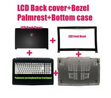 LCD Back cover/Bezel/Palmrest/Bottom case for MSI GV62 7RC(MS-16JD)/7RD(MS-16J9)