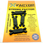 X-FACTOR OUTDOOR PRODUCTS STRING FACTOR BOW SILENCERS 4PACK COMPOUND BOW RECURVE