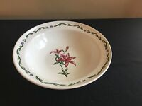 "International Tableworks TERRACE BLOSSOMS 9"" Round Vegetable Serving Bowl"
